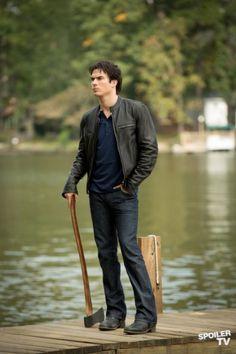 Photos - The Vampire Diaries - Season 4 - Promotional Episode Photos - Episode 4.09 - O Come, All Ye Faithful - ..DAMON