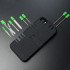 Life can be pretty unpredictable at times, luckily you'll be prepared for any situation thanks to the multi-tool iPhone case. Whether it's cutting through wires or carving a sphere for hunting down lunch, one of the iPhone case's 16 tools will come to your aide.