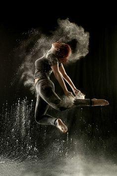 tenue de danse moderne, powder dance