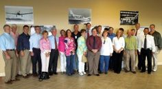 Exchange Club presents Proudly We Hail award to Piper Aircraft