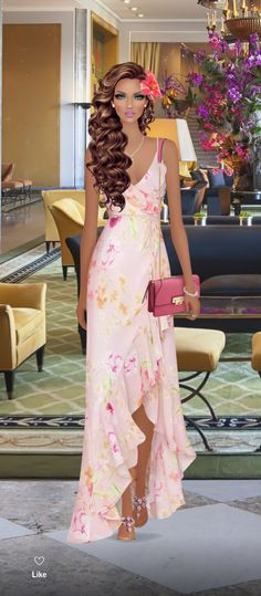 Covet Fashion Games, Fashion Models, Cute Dresses, Beautiful Dresses, Dress Sketches, Frill Dress, Elegant Outfit, Glamour, Modest Outfits