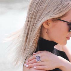 Druzy ring Druzy Ring, Stud Earrings, Photo And Video, Jewelry, Instagram, Jewellery Making, Stud Earring, Jewerly, Jewlery