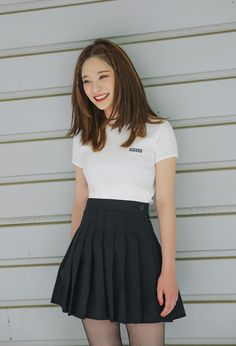 Zippered High Waist Tennis Skirt | STYLENANDA ( 19 $ )
