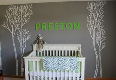 preston crib  #projectnursery #franklinandben #nursery