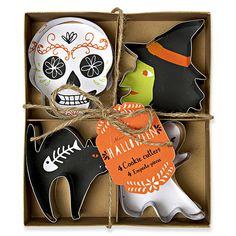 'Happy Halloween Cookie Cutters' PD