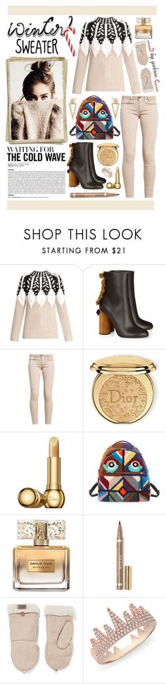 """""""Sweater Weather"""" by gabree ❤ liked on Polyvore featuring Peter Pilotto, Marco de Vincenzo, Christian Dior, Fendi, Givenchy, Australia Luxe Collective, Anne Sisteron and Ileana Makri"""