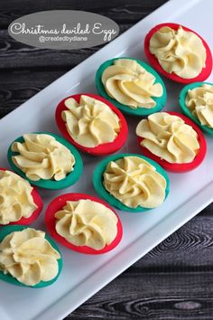 Christmas Deviled Eggs | 25 Days of Christmas