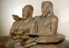 Sarcofago degli Sposi, VI sec. a.C., Museo nazionale Etrusco di Villa Giulia, Roma, Italy
