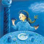 Puzzelen met Eefje Donkerblauw