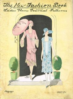 1926 summer fashion from Ladies' Home Journal. From kittyinva@tumblr.com