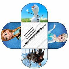 Cajas de Frozen para Imprimir Gratis. | Ideas y material gratis para fiestas y celebraciones Oh My Fiesta!