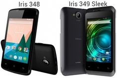 The Indian Corporation: Lava has introduced two new low-cost Android based handsets: called Iris 348 and Iris 349 Sleek at Rs. and Rs. Mobile Maker, Cheap Smartphones, Dirt Cheap, Best Smartphone, Lava, Iris, Budgeting, Product Launch, Mobiles