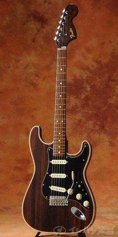 Fender Japan All Rosewood Stratocaster. Unweak Strat, bound body