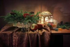 Чудесные новогодние натюрморты / Интересненькое / Бэйбики. Куклы фото. Одежда для кукол