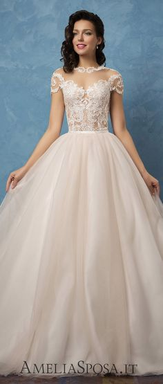 [tps_header] Amelia Sposa's 2017 bridal collection is every bit as beautiful as their previous collections, which have gained worldwide attention for their quality and exquisitely detailed designs. The 2017 bridal col...