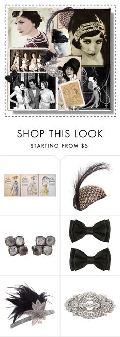 """""""1920's Mood Board"""" by misskouture ❤ liked on Polyvore featuring vintage, 1920s, vintagestyle, vintagephotography and vintagecollage"""