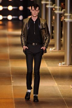 Saint Laurent MEN | Paris | Verão 2014 RTW