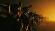 11.Dezember 2013, #Zentralafrikanische #Republik: Französische #Truppen stehen am Flughafen von #Bangui, der Hauptstadt der Zentralafrikanischen Republik.  (Foto: Reuters)