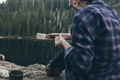 coffee in the mountains