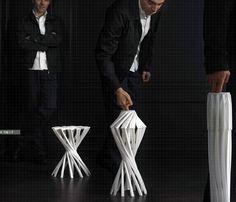 OneShot – Folding Chair by Patrick Jouin » Yanko Design
