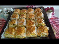Kahvaltılık Pratik Patatesli Çıtır Börek Tarifi - YouTube