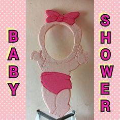 Marco para selfie... Baby shower de niña: