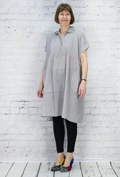 TM Collection Tunic Japanese Rimo TM160000 (Ashes of Roses Back)