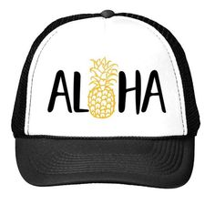 """PINEAPPLE ALOHA"" HAT"