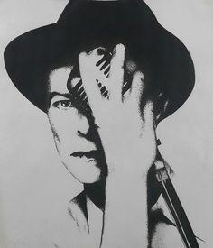 David Bowie David Bowie Tribute, David Bowie Art, Creative Photos, Art World, Pop Art, Fanart, Portraits, Icons, Graphics