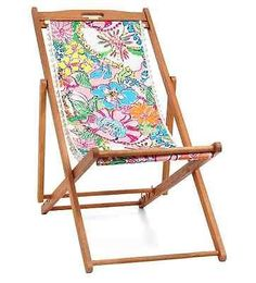 Lilly Pulitzer for Target fold up chair