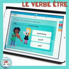 Use self-grading digital task cards on the Boom Learning app for French verbs present tense practice – no more printing, cutting, and laminating! French Verbs, French Teacher, Teaching French, High School French, Core French, French Expressions, French Classroom, French Immersion, Class Activities