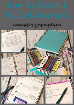 How To Start A Bullet Journal #PilotYourLife #BuJo #ad