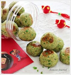 Green Pea Cookies 青豆饼 | Anncoo Journal - Come for Quick and Easy Recipes