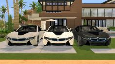 Lory Sims: BMW i8 • Sims 4 Downloads