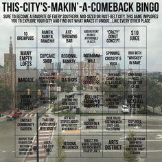 City Roller, Rust Belt, Urban Planning, Bingo, Hamilton, How To Become, How To Plan, Memes, Iowa