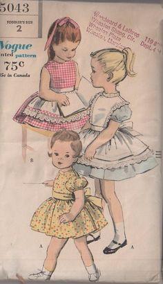 MOMSPatterns Vintage Sewing Patterns - Vogue 5043 Vintage 60's Sewing Pattern…