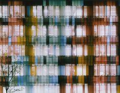"Sauerbruch Hutton's Biberach Laboratory façade in a work by Ola Kolehmainen, ""Untitled (No. 6)"", 2005, (© Ola Kolehm..."