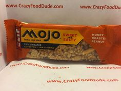 Crazy Food Dude Review: CLIF Mojo Sweet and Salty Honey Roasted Peanut Trail Mix Bar