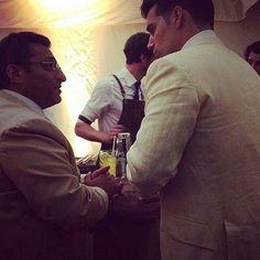 Fotos compartilhadas no IG de #MosheParhamSassoonic, do casamento de #GuyRitchie