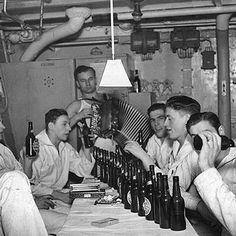 U-boat 858 crew on the KDF cruise ship 'Robert Ley'