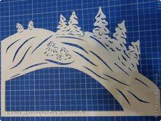 Давно носила в себе идею сделать туннель на тематику заснеженной деревеньки, чтобы ощущалось рождественское настроение и домашнее тепло в засыпанных снегом домах. Вот и родилось сие творение! Надеюсь, Вам понравится! фото 5