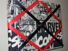 11 x 14 Marvel Comics Vintage look by naptimepillowsnmore on Etsy, $20.00