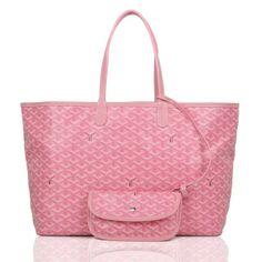 Goyard St Louis GM Pink Tote Bags