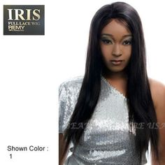 IRIS Yaky Straight Lace Wig Sister 24 Inches