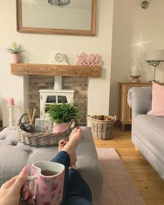 Seriously how long does it take to get over hangovers these days. asking for a friend 🙄.even trying black tea that someone advised to… Cottage Lounge, Cottage Living Rooms, Cottage Interiors, New Living Room, Living Room Decor, Log Burner Living Room, Living Room Inspiration, Living Room Designs, Home Furnishings
