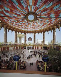 NY State Pavilion - Photo by Ezra Stoller