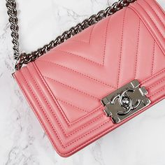 The 'It' handbag for Spring: Chanel Boy bag. - Yoogi's Closet | #Chanel