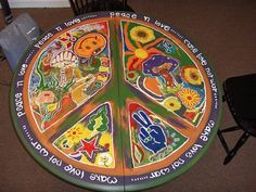 Charming Hippie Table By Natmarv On Etsy, $200.00