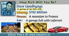 How Rich Will You Be? Find Out Now With This App.