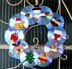 In this DIY tutorial, we will show you how to make Christmas decorations for your home. The video consists of 23 Christmas craft ideas. Cd Crafts, Music Crafts, Crafts For Kids, Felt Christmas, Christmas Time, Christmas Wreaths, Christmas Decorations, Handmade Christmas, Christmas Activities